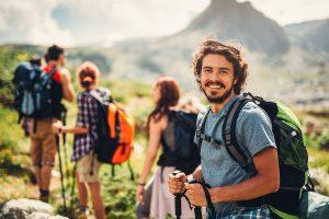 natural health and wellness hiking