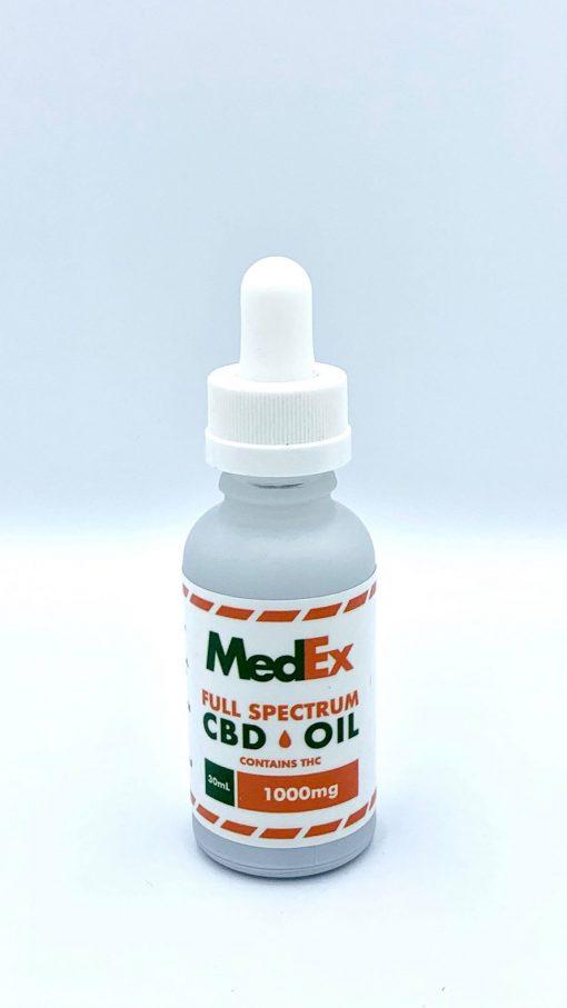 medex cbd oil full spectrum dropper 1000mg