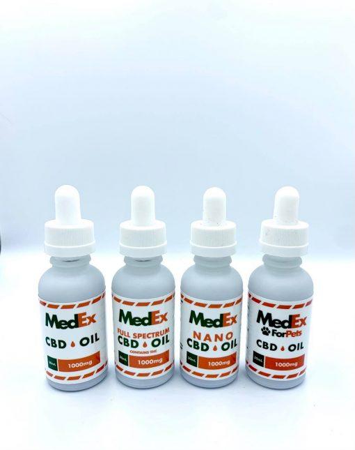 medex full line of cbd oils