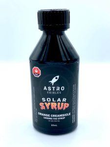 orange creamsicle 1000mg thc infused syrup