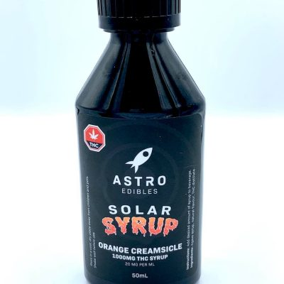 orange creamsicle 1000mg thc infused syrup