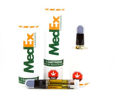 medex vape carts in a variety of flavours
